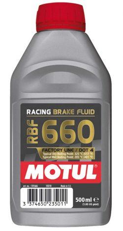 Motul RBF 660 Brake Fluid - 500mL
