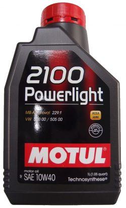 Motul 2100 Power Light 10W40